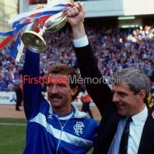 "Walter Smith Graeme Souness Rangers FC photo 8x10"" (Unsigned)"