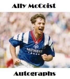 Ally McCoist Autographs