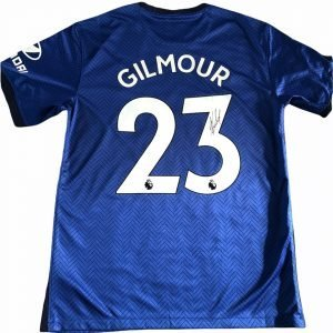 Billy Gilmour Autographed Chelsea FC Football shirt 2020