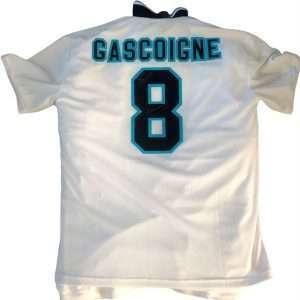 Paul Gascoigne Autographed England 1996 Football Club shirt signed #8